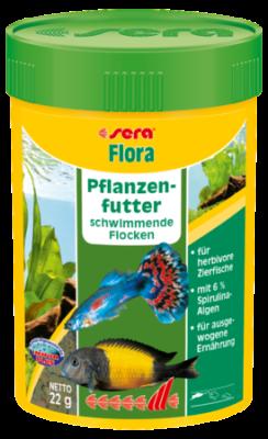 Sera Flora  60 g, 22 g, 210 g, 2 kg