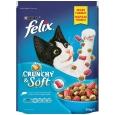 Crunchy & Soft Salmone, Tonno e Verdura  950 g da Felix
