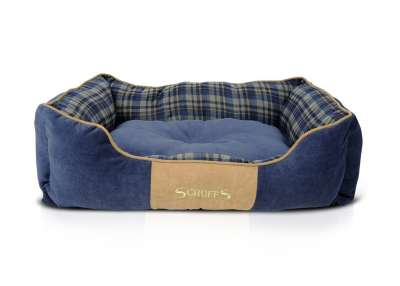 Scruffs Highland Box Bed Albastru S