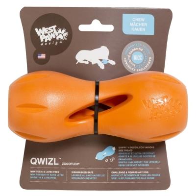 West Paw Qwizl Treat Toy Oranje S