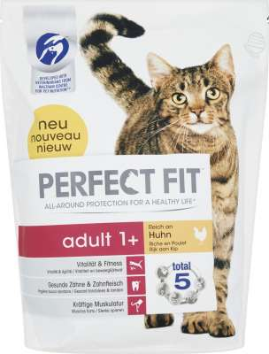 Perfect Fit Adult 1 + Reich an Huhn 1.4 kg, 2.8 kg, 750 g, 7 kg, 190 g
