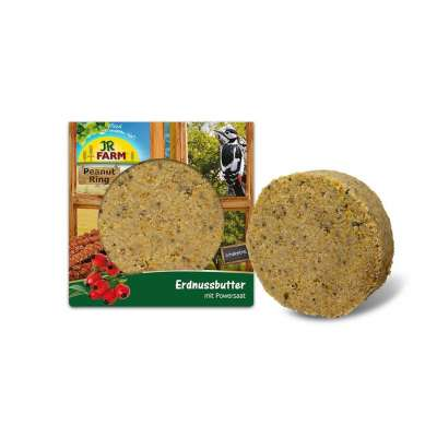 JR Farm Peanut Ring Erdnussbutter mit Powersaat  250 g