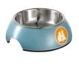 Hunter Melamine feeding bowl Vita Collection blue  billige