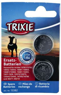 Trixie Spare Batteries CR2032