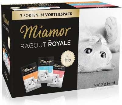 Miamor Ragout Royal in Gelatina Multibox 12x100 g