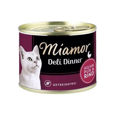 Miamor Deli Dinner Puro Frango com Carne 175 g