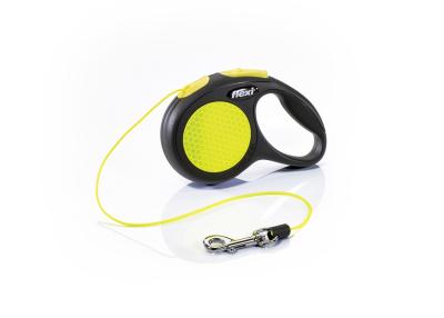 Flexi New Classic Neon Cord - Black/Neon yellow XS