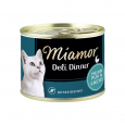 Deli Dinner Chicken pure with Salmon 175 g van Miamor