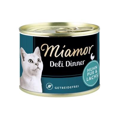 Miamor Deli Dinner - Pollo puro e Salmone 175 g