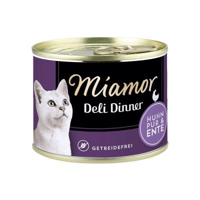 Miamor Deli Dinner - Pollo puro e Anatra 175 g