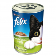 Chunks with Rabbit and Chicken in Sauce 400 g från Felix