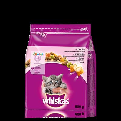 Whiskas Junior com Salmão 800 g, 350 g, 14 kg, 1.9 kg