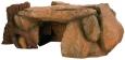 Trixie Felsplateau mit Baumstamm Braun
