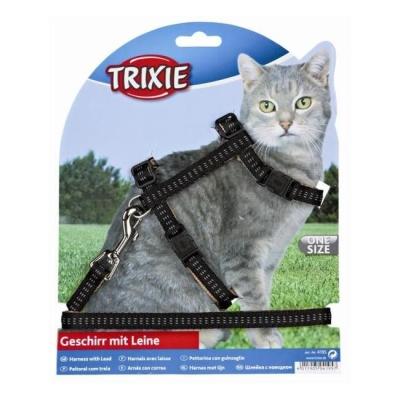 Trixie Softline Elegance - Cat Harness & Leash Set 120 cm