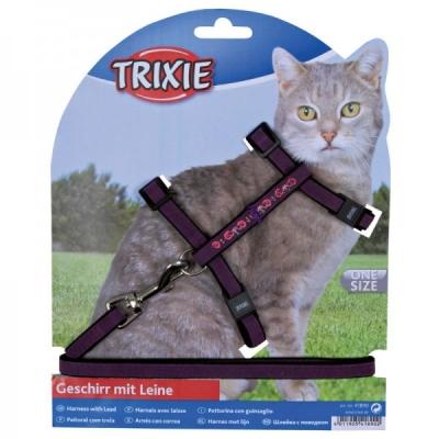 Trixie Katzengarnitur, bestickt, Samt 120 cm
