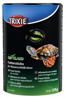 Trixie Reptiland Food Sticks for Water-Turtles  75 g, 270 g