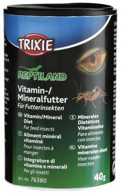 Trixie Vitamin/Mineralfutter für Futterinsekten  40 g