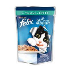 As good as it looks with Tuna in Jelly Felix 4000487226050