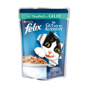 Felix As good as it looks with Tuna in Jelly 100 g