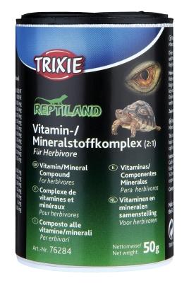 Trixie Complejo Vitamínico/Mineral para Reptiles Herbívoros  50 g