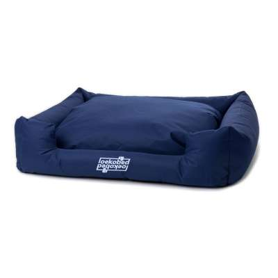 "Pakmas ""Oeko-Bed"" Dog Cushion Marine blå S"