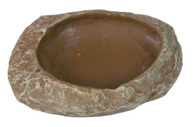 Trixie Wasser- und Futterschale, Steppenfelsen 6x1.5x4.5 cm