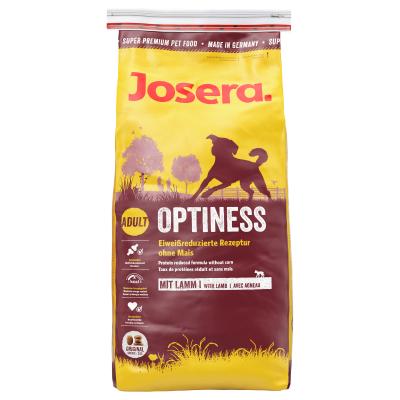 Josera Daily Optiness Lambin kanssa  900 g, 4 kg, 15 kg, 1.5 kg