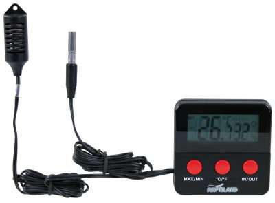 Trixie Thermo-/Hygrometer, digitaal, met afstandssensor  6×6 cm