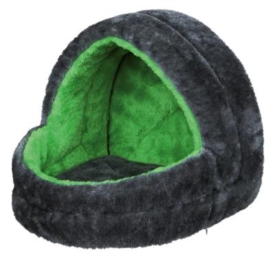 Trixie Kuschelhöhle, grau/grün 25×25×29 cm