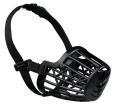 Trixie Muzzle, Plastic, black  14 cm