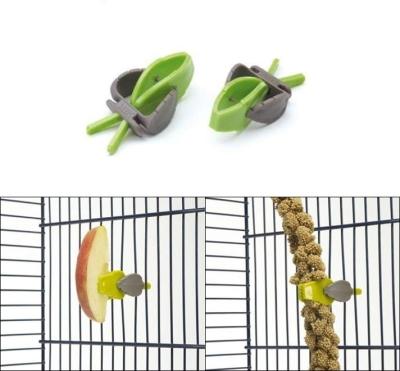 Savic Pincer Soporte de comida, 2 piezas Verde