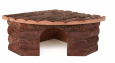 Natural Living Jesper Corner House, 32 × 13 × 21 / 21 cm    from Small pets