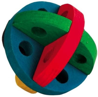 Trixie Palla Gioco per Snack Multicolore 8 cm