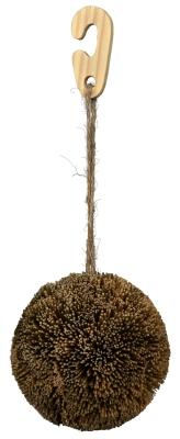 Trixie Spiel- und Nageball am Juteband, Seegras 10 cm