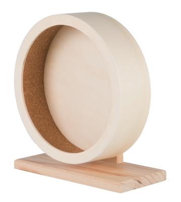 Trixie Holzlaufrad 21 cm Beige
