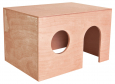 Trixie Meerschweinchenhaus, Holz 24×15×15 cm