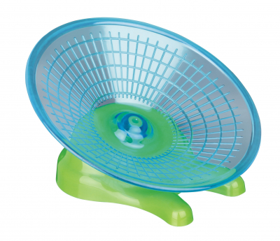 Trixie Disco per Correre in Plastica 17 cm Blu chiaro