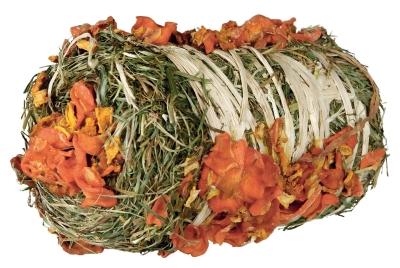 Trixie Pure Nature - Heuballen mit Kürbis und Karotte Kürbis & Karotten 200 g