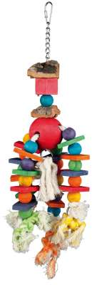 Trixie Wooden Toy, colourful Multicolor 35 cm