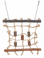 Trixie Natural Living Rope Climbing Wall Brun