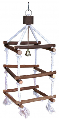 Trixie Natural Living Tower with Rope 51 cm Brown