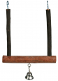 Trixie Natural Living Swinging Trapeze with Bell 12×15 cm