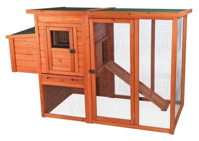 Trixie Natura Hühnerstall Zweistöckig 170×105×77 cm