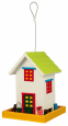Trixie Hanging Bird Feeder Home, Wood Flerfarvet
