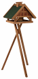 Trixie Natura Bird Feeder with Stand, Brown-Green 54×40×48 cm