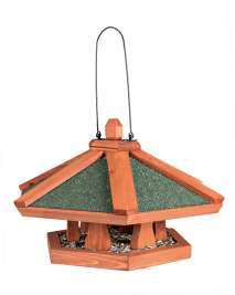 Trixie Natura Hanging Bird Feeder  Light brown