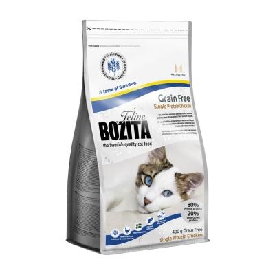 Bozita Grain Free Single Protein Chicken 10 kg, 2 kg, 400 g