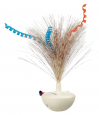 Trixie Feather Wobble, plastic Milk