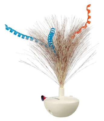 Trixie Feather Wobble in Plastica Latte 5×14 cm