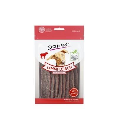 Dokas Aperitivo de Carne de Cordeiro seco para Cães 70 g